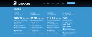 Pricing_tunecore