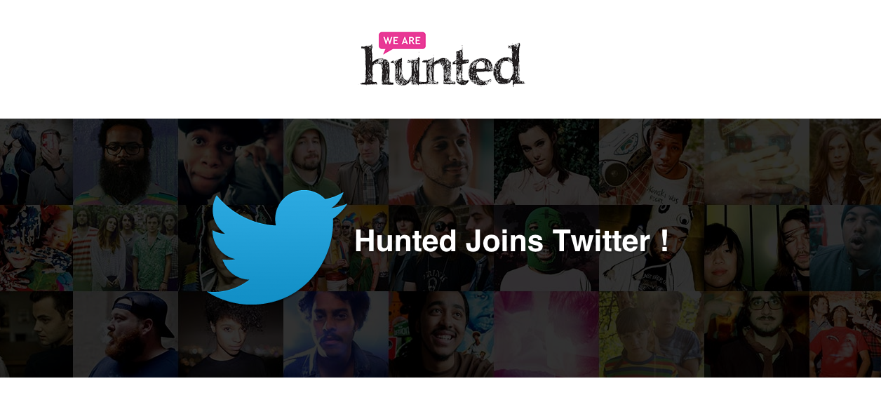 We Are Hunted Joins Twitter