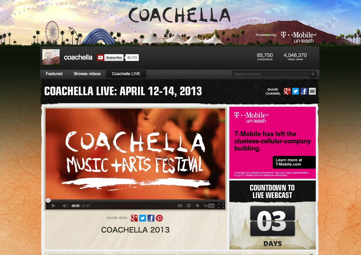coachella - YouTube