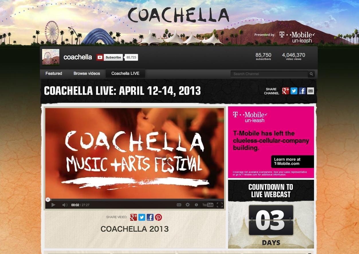 coachella - YouTube