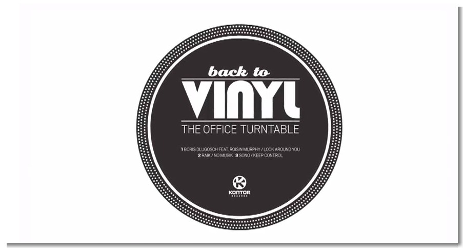 Kontor Records Back to vinyl-The Office Turntable_film - YouTube