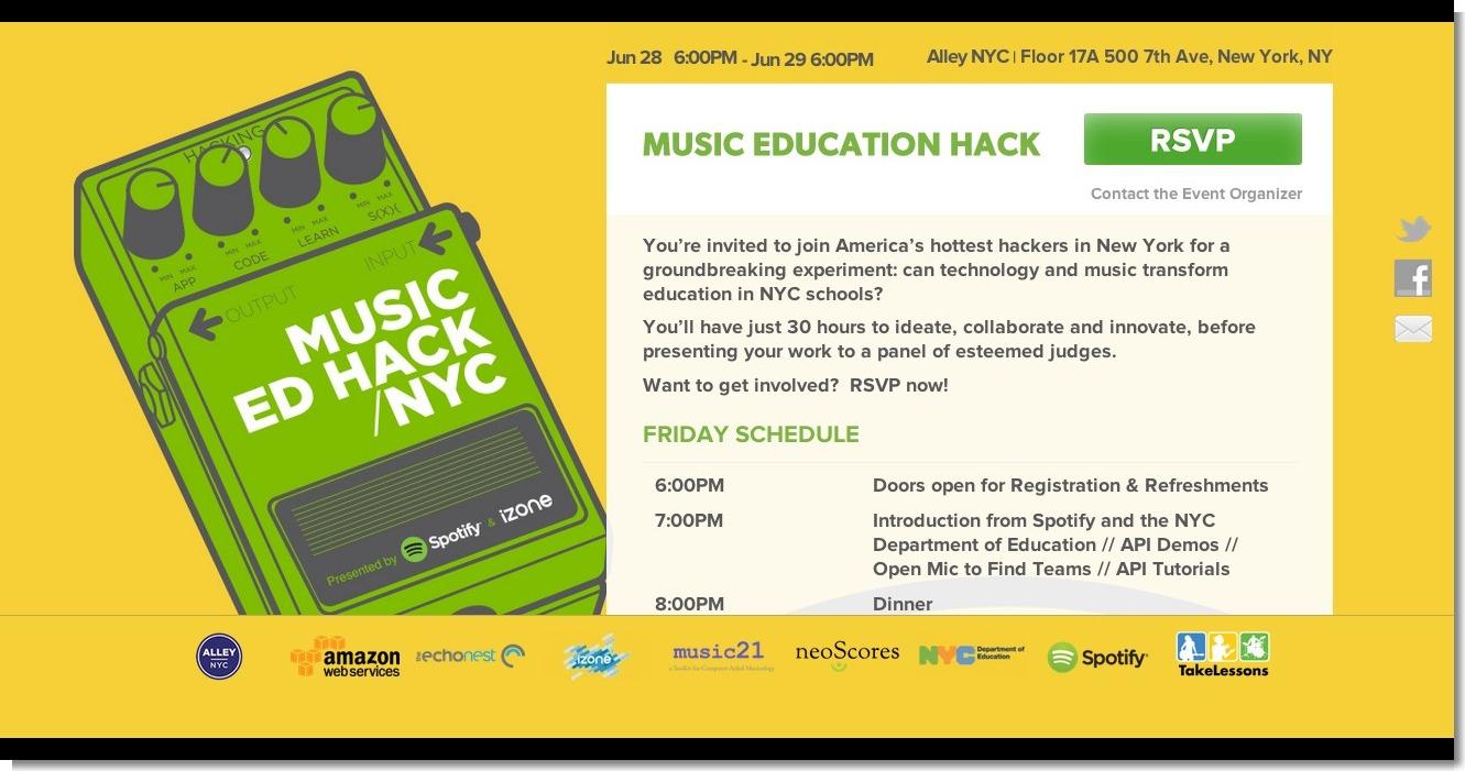 Music Education Hackathon