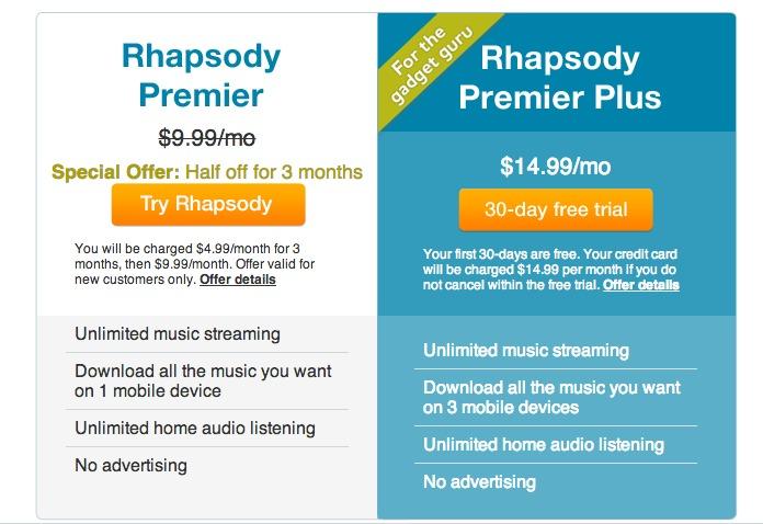Discover Rhapsody - Get Rhapsody