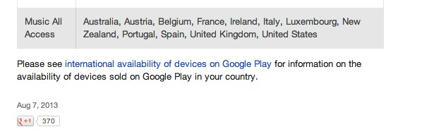 International availability of content - Google Play Help