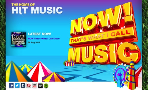 NOW That's What I Call Music - The Home Of Hit Music