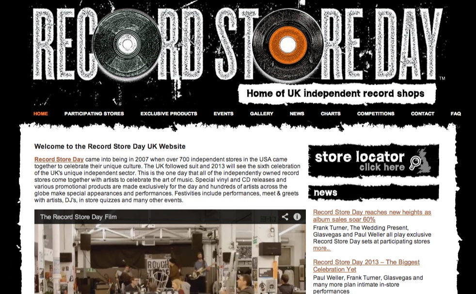 Home - Record Store Day
