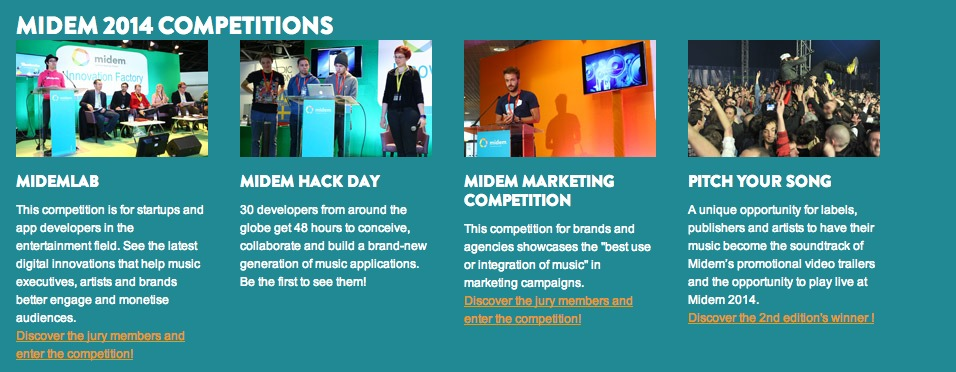 Midem 2014 Programme  conferences, competitions, festival and matchmaking - midem.com