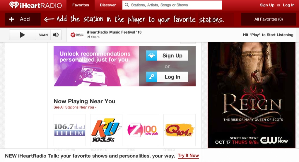 i heart radio how to listen offline