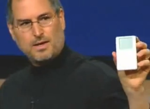 Apple Music Event 2001-The First Ever iPod Introduction - YouTube