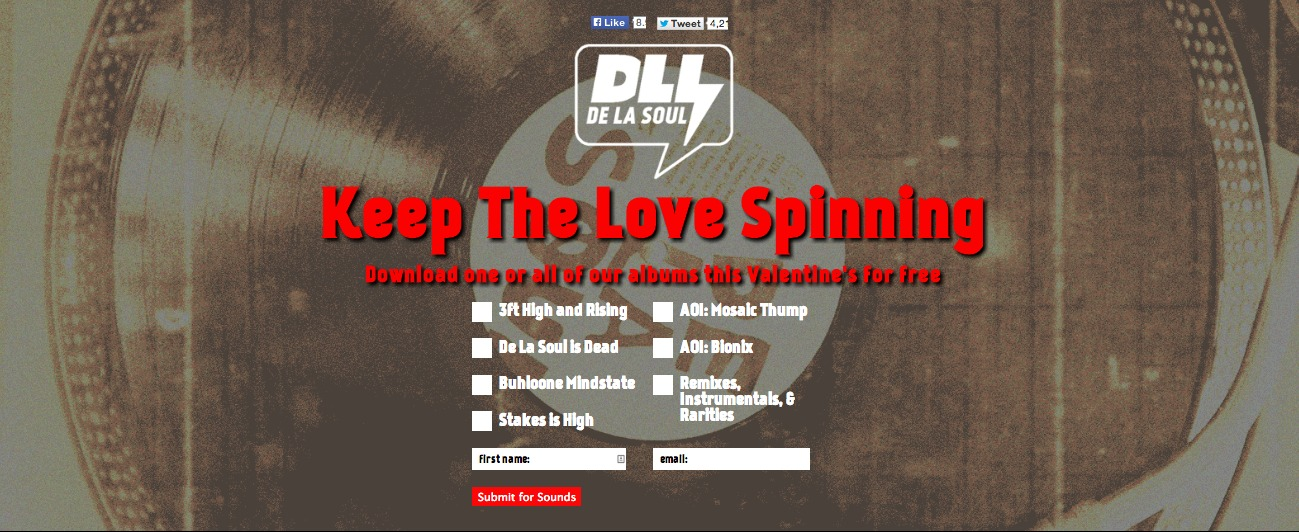 DE LA SOUL - Keep The Love Spinning