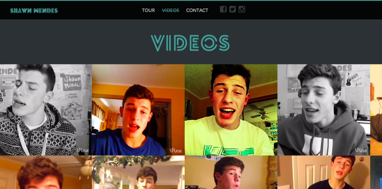 Shawn Mendes - Official Website