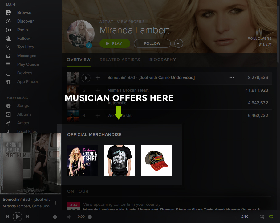 how to delete spotify profile