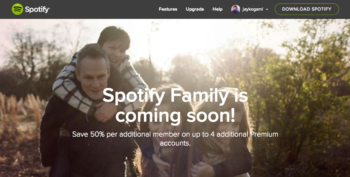 FamilySpotifySpotify