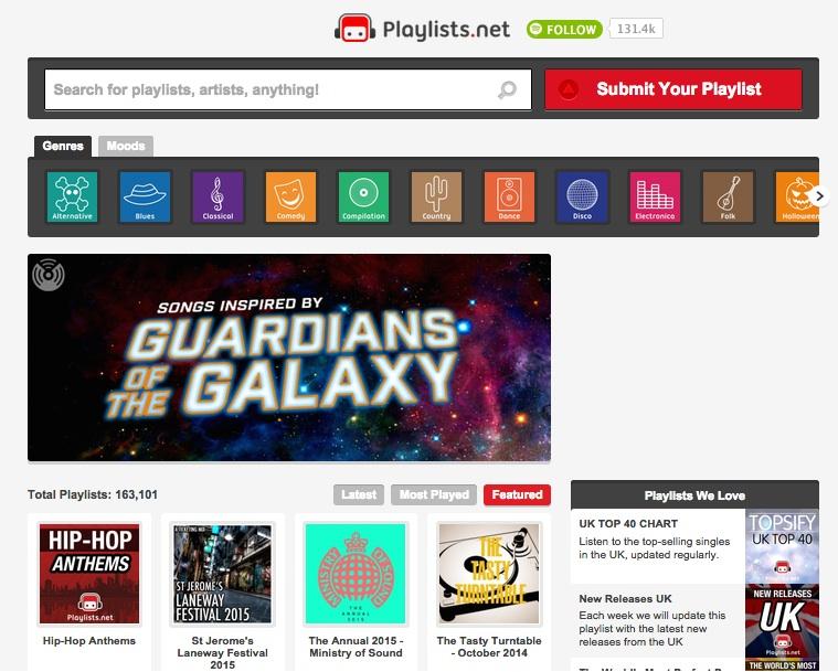 Playlistsnetscreencapture