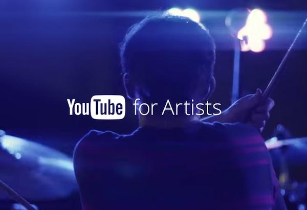 YouTubeforArtists