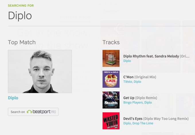beatport-search
