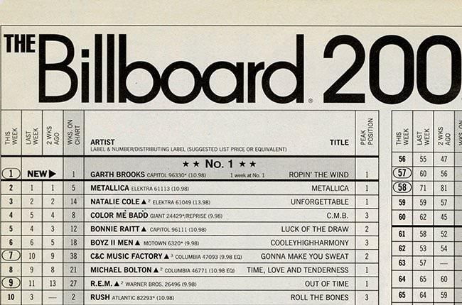billboard apple music