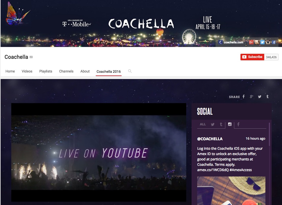 CoachellaYouTube