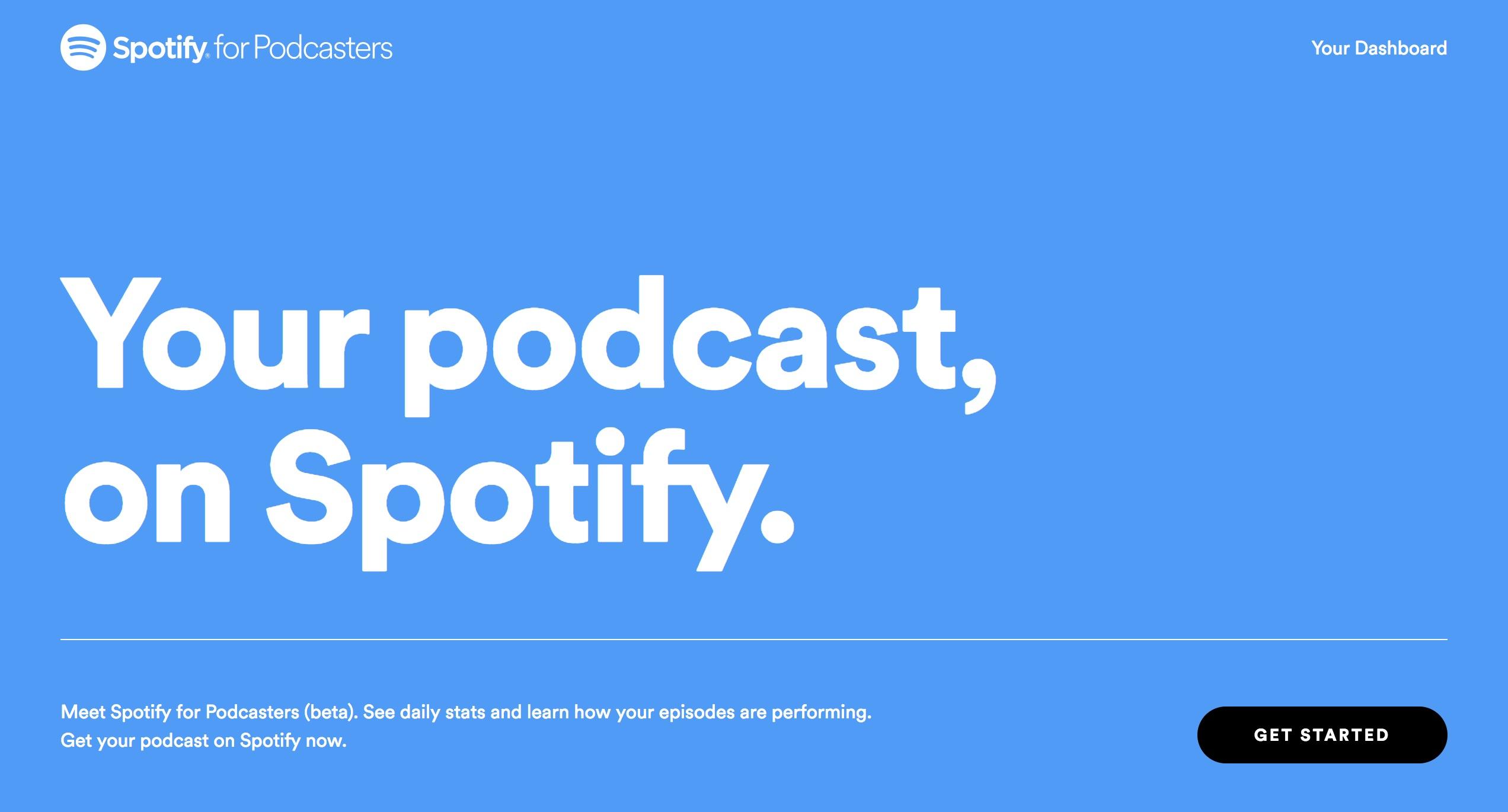 Spotify、ポッドキャスト配信ツールを無償提供。急成長の音声 ...