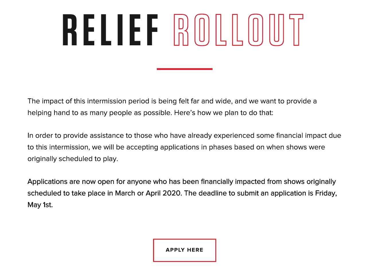 Crew Nation Relief Fund
